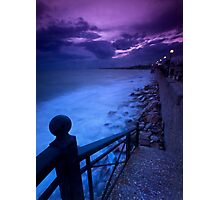 Stairway to the sea Photographic Print