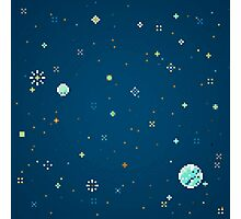 Pixel Planet Pattern No. 1 Photographic Print