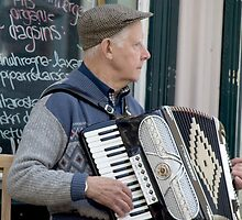 Playing on the Street by Marylou Badeaux