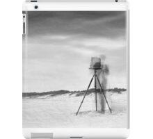 A Ghost on the Beach iPad Case/Skin