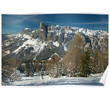 Mighty Dolomites Poster