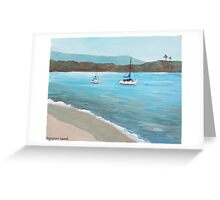 Balboa Island Plein Air Greeting Card