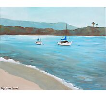 Balboa Island Plein Air Photographic Print