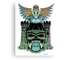 Grayskull Canvas Print