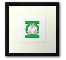 Lanternshy symbol Framed Print