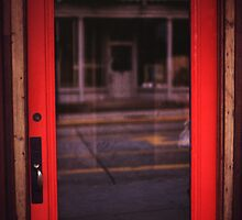 Reflected Door by Jay Gross