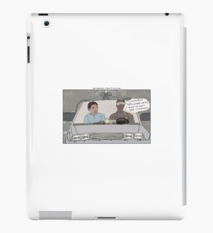 The Cosby Show + Back to the Future iPad Case/Skin