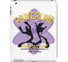 Vintage Powerline Concert Logo - A Goofy Movie iPad Case/Skin