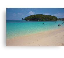Isle of Pines A Canvas Print