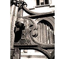 BYGONE GATES - LAUNCESTON Tasmania Photographic Print