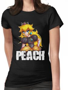 Punk Peach Womens Fitted T-Shirt