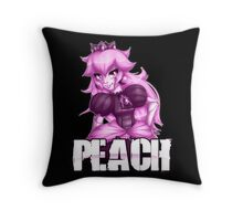 Punk *PINK* Peach Throw Pillow