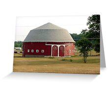 Indiana Round Barn Greeting Card