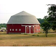 Indiana Round Barn Photographic Print