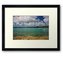 Isle of Pines E Framed Print