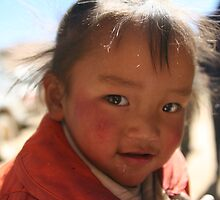 Tibetan baby at roadhouse by 2dvs