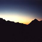 SOUTHERN  ALPS SUNSET - MT COOK/AORAKI New Zealand by MrSnapHappy