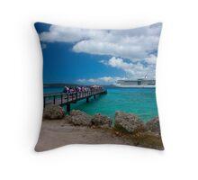 Radiance of the Seas, Lifou Throw Pillow