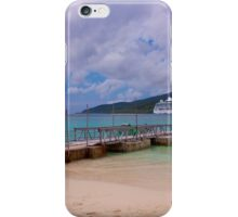 Radiance of the Seas, Mystery Island A iPhone Case/Skin