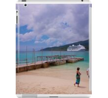 Radiance of the Seas, Mystery Island A iPad Case/Skin