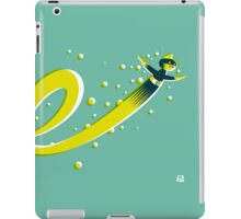 Super E (f) iPad Case/Skin
