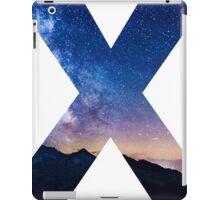 The Letter X - night sky iPad Case/Skin