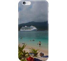 Radiance of the Seas, Mystery Island B iPhone Case/Skin