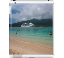 Radiance of the Seas, Mystery Island C iPad Case/Skin