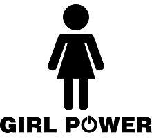 Girl Power!  Photographic Print
