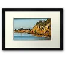 Beaumaris Cliffs Framed Print