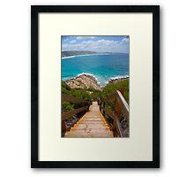 Western Australia B Framed Print