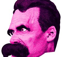 Nietzsche's Head - by Rev. Shakes by Rev. Shakes Spear