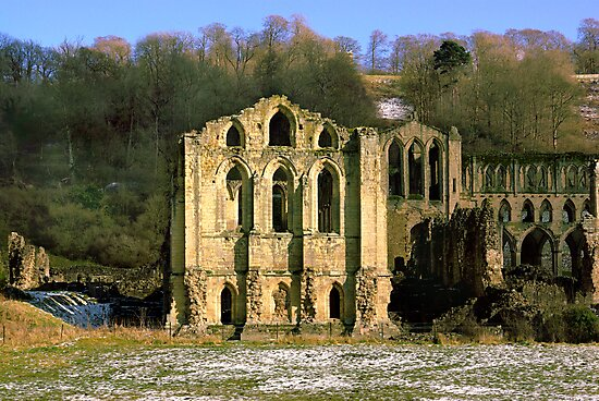 Rievaulx Abbey by Trevor Kersley