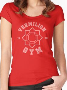 Pokemon - Vermilion City Gym Women's Fitted Scoop T-Shirt