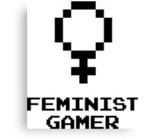Feminist Gamer Canvas Print