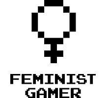 Feminist Gamer Photographic Print