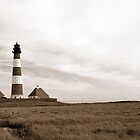 Westerhever Light by Anne Schwaderer
