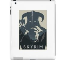 Skyrim Outline  iPad Case/Skin