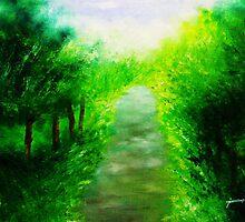 LONELY WALK HOME by JOREN-OF-ART