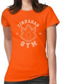 Pokemon - Cinnabar Island Gym Womens Fitted T-Shirt