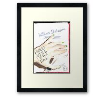 Hamlet Dies @ the End Framed Print