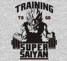 Training To Go Saiyan - Black Edition by yuemha69