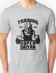 Training To Go Saiyan - Black Edition T-Shirt