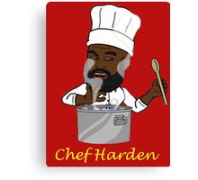 Chef Harden Canvas Print