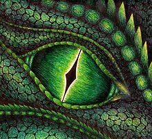 Green Dragon's Eye by LisaBuchfink
