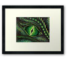 Green Dragon's Eye Framed Print
