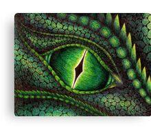 Green Dragon's Eye Canvas Print