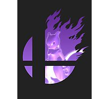 Mewtwo Strikes Back in Smash Bros Photographic Print