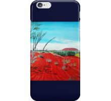 Uluru, Australia iPhone Case/Skin