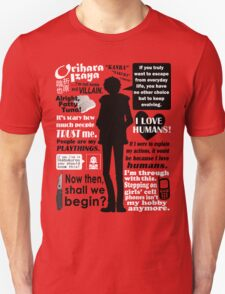 Orihara Izaya Quotes T-Shirt